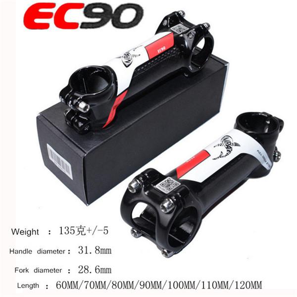 EC90 carbon cloth riser 6° red mountain road bike handlebars bicycle faucet riser carbon fiber handle stem