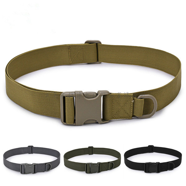 Men Adjustable Tactical Belt Buckle Tactical Bag Waistband Rescue Useful Tool High Quality Series In Multiple Pockets