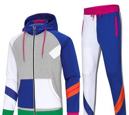 Sweat à capuche pour hommes Survêtements Designer Brand Jacket Pant Set Sport RUNNING Costumes de printemps Haut Kits Qualité Drop Shipping B100288V