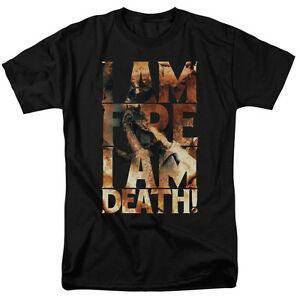 Camiseta Hobbit Movie I AM FIRE para adultos con licencia Todos los tamaños