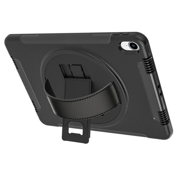 For iPad Pro11 2018 ipad 12.9 2018 Hybrid 3 in 1 Tablet Case Kickstand Cover 360 Degree Rotating Flip PC Stand Hand Straps Retail box