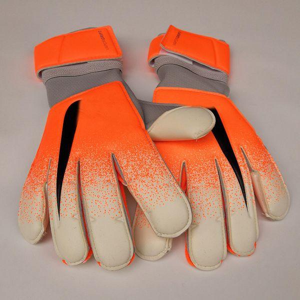 top popular 2019 Newest Original Logo Goalkeeper Gloves Goal Keeper Gloves VG3 Top Latex Soccer Football Gloves-latex Plam Bola De Futebol 2019