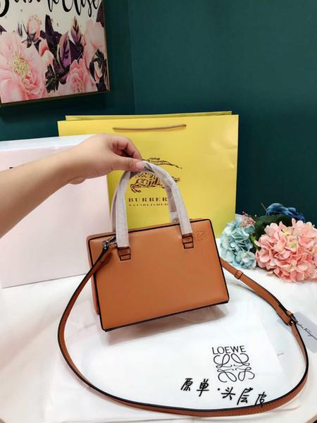 Bayan çantası 2019 yeni yaratıcı düz renk basit bayanlar sırt yöntemlerine Katlanabilir rahat çanta size23 * 15cm çeşitli torbasını taşımak