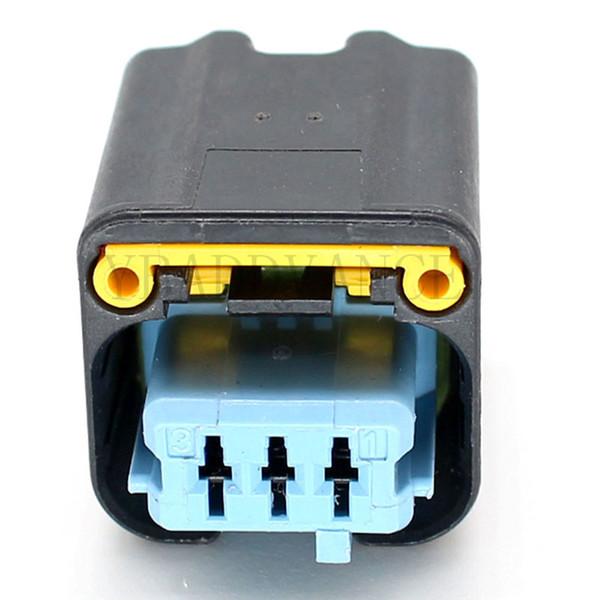 HP/HPSL 3 Pin Female Electrical TE AMP Connector pbt gf 15 1801179