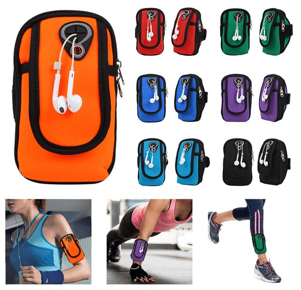 Universal Bag for 4-6inch Cell Phone Gym Running Jogging Sports Wallet Pouch Waterproof Armband Case Outdoor Arm Bag