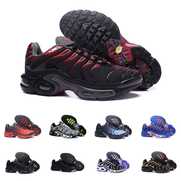 Nike Air TN Plus 2019 neue Designs Klassische Original Tn Schuhe Mode Herren Turnschuhe Atmungsaktives Mesh Air Tn Chaussures Requin Sport