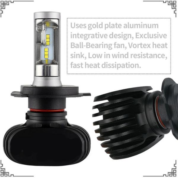 top popular S1 led car headlights h1 h3 h4 h7 h11 h13 h16 9004 9005 9006 9007 880 high power headlights factory direct 2021