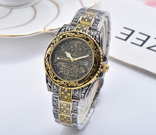 Top Marca Flor escultura mulheres Assista Reloj de hombre relógio de quartzo senhora de aço inoxidável Design Especial lady Moda Vestido Relógio Melhor presente
