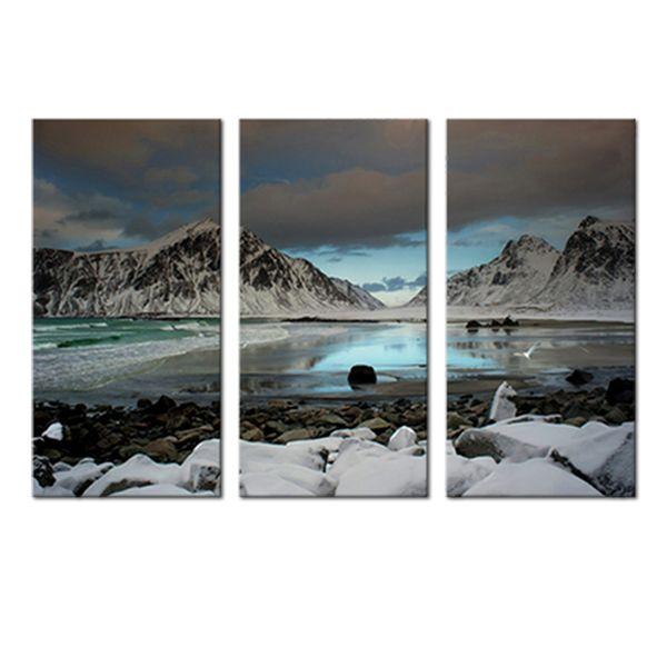 Acheter Plateau Neige Montagne Glacier Paysage Peinture Mur Photo Toile Mur Art Décoration De La Maison Sans Cadre De 16 79 Du Meiledi Paintings