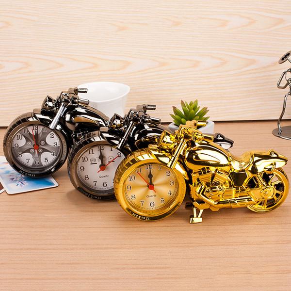 دراجة نارية منبهات تزيين المنزل منبه رائع نموذج دراجة نارية منبهات عطلة الإبداعية الرجعية هدية ديكور DBC DH0730