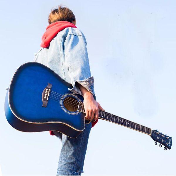 41 pollici chitarra acustica Basswood guitar matte principianti pratica piano principiante voce produttori all'ingrosso spedizione gratuita