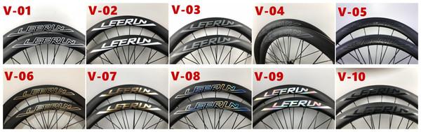 Made in China 2-year warranty 38mm 50mm 60mm 88mm Carbon Wheels Road Bike Wheel LEERUN Racing Bicycle Wheel 700C 25mm Width Powerway Hub