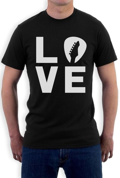 In Love With My Guitar - Guitarist Perfect Gift Idea T-Shirt Cool top free shipping t-shirt