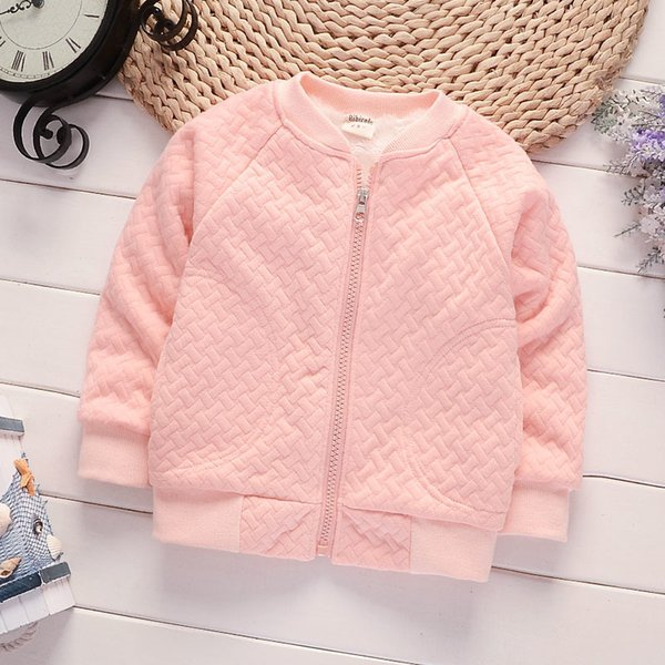 good quality girls autumn winter Jackets kids boys casual thick parkas Infant children baby wear cotton shirt late autumn outwear