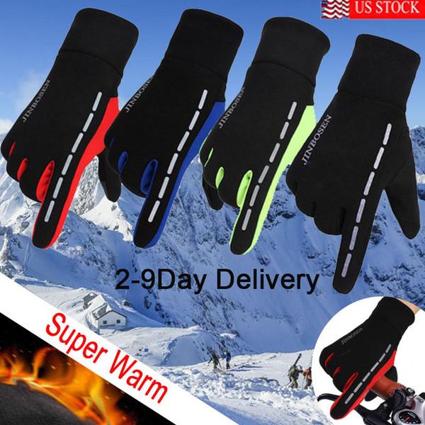 Brand New Waterproof Men's Women' Winter Ski Warm Gloves Motorcycle Driving Gloves Mittens
