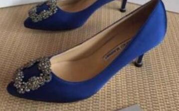 zapatos de tacón alto de mujer 2019 con zapatos de boda de dama de moda de diamantes de imitación tacón delgado 6 cm 8 cm 10 cm tamaño 35-40 incluye caja