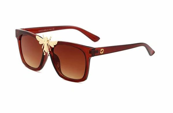 2019 Nouveau luxe de haute qualité des lunettes de soleil femmes soleil des femmes de lunettes de soleil Lunettes rondes boîte non livraison gratuite