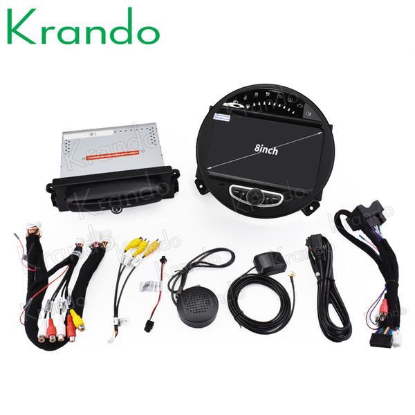 "Krando 7"" Android 9.0 car dvd radio audio palyer multimedia system for BMW Mini Cooper 2006-2013 gps navigation"