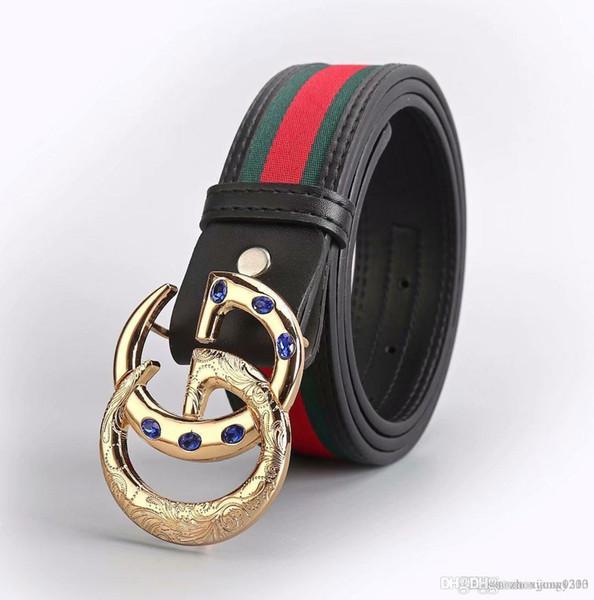 2016 Marca BOS Cinturón Para Hombre Cinturón de lujo Hebilla automática Cinturones Cinturones de cuero genuino Cinturón de jeans para hombres
