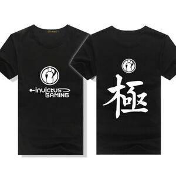 Camiseta corta de algodón sDesignved camiseta masculina ig equipo uniforme ropa League of Legends