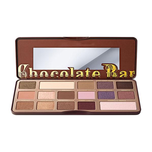 USA Makeup Brands Too Face Eye Makeup 16 Matte Chocolate Bar Eyeshadow Palette 2 x 2.8g 14 x 0.85g