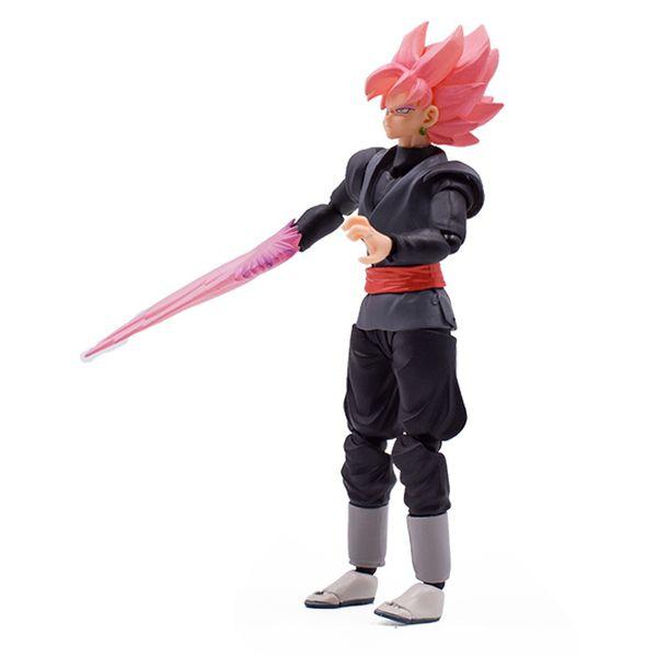 15cm SHF Dragon Ball Super: Goku Black Zamasu S.H. Figuarts PVC Action Figure Collection Model Kids Toy Doll Free Shipping Y190529