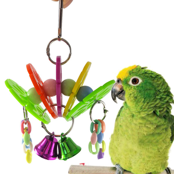Middle And Small Size Parrot Gnaw Toys The Sun Flower Arch Bridge Group Hair