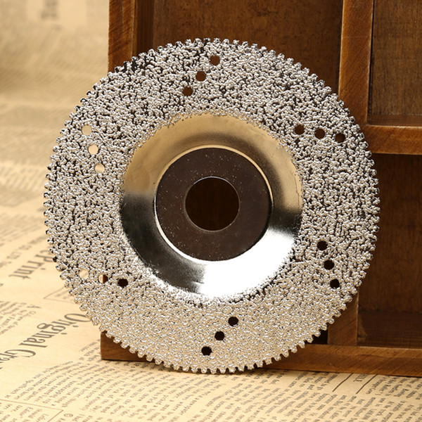 cutting 100mm Diamond Grinding Wheel Diamond Cutting Disc Saw Blade for Dremel Rotary Tool Cuttter for Marble Concrete Porcelain