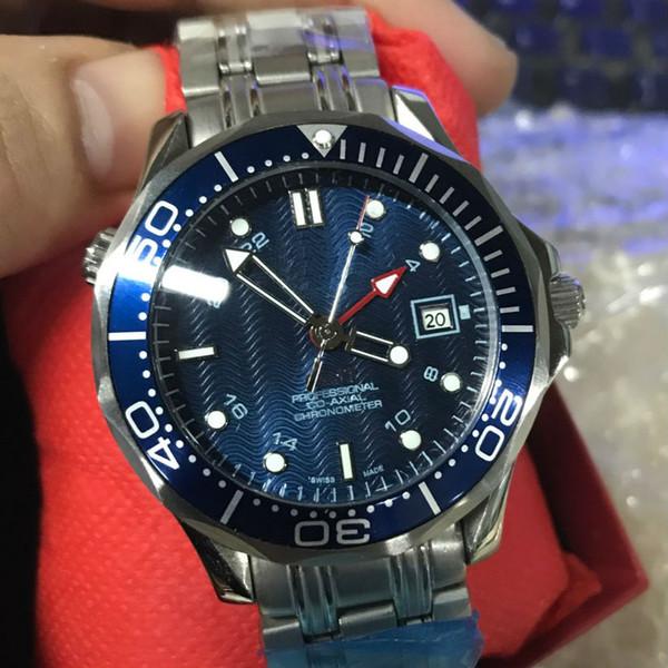 Luxusuhr 007 Skyfall Herrenuhren GMT James Watch Bond Chronometer Marke Quarzuhren Luxus Herren Co-Axial Uhr
