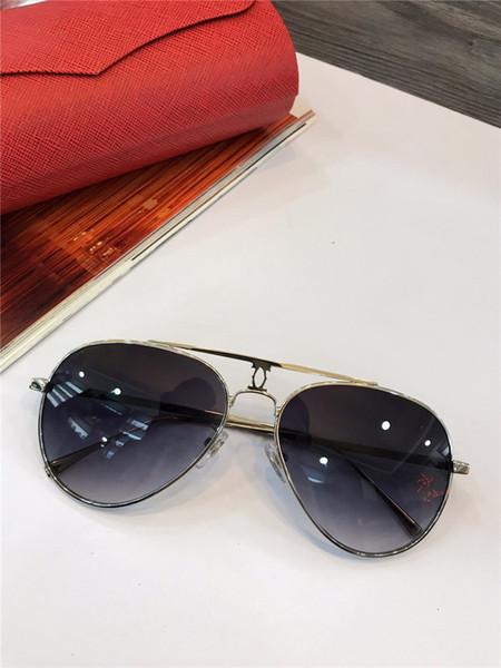 2018 woman vintage EYEGLASSES FRAMES WOOD SUNGLASSES Wood Half Rim Eyeglasses plated Santos Designer in Box numC181128-9