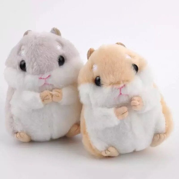 6 Size 12cm new mouse plush Animal stuffed mouse Key chain toy, Action Figures Toys for children gifts
