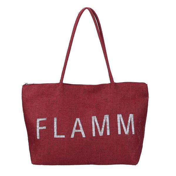 Cheap Fashion Knitted Straw Bag Summer Bohemia Fashion Women's Handbags Color Stripes Shoulder Bags Beach Bag Big Tote Bags Dropshipping