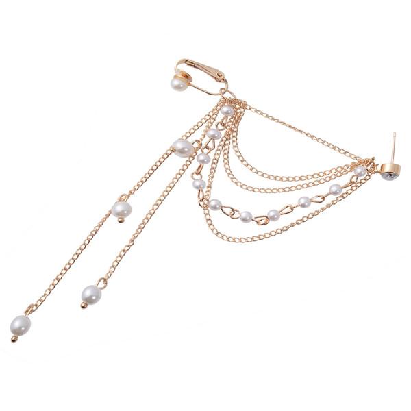 Золото по одной цене Корейская мода Street Shoot Beauty Жемчужные серьги Красивый стиль Модные ювелирные аксессуары 2 Выбор цвета