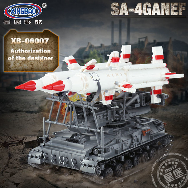 New 1469Pcs Military Series The SA-4 Ganef Set Building Blocks Bricks Set  Toys