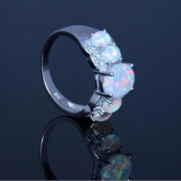 Everoyal moda 925 anéis de prata esterlina para as mulheres acessórios de cor de cristal do vintage oval feminino anéis de dedo jóias menina presente