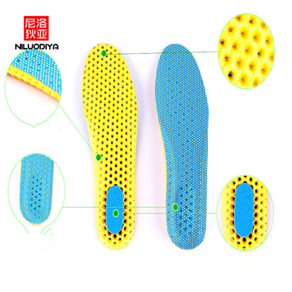 Sports Absorber Insoles Can Be Cut Thick and Deodorant Breathable Insoles Unisex Warm Running Absorber Insoles.7z