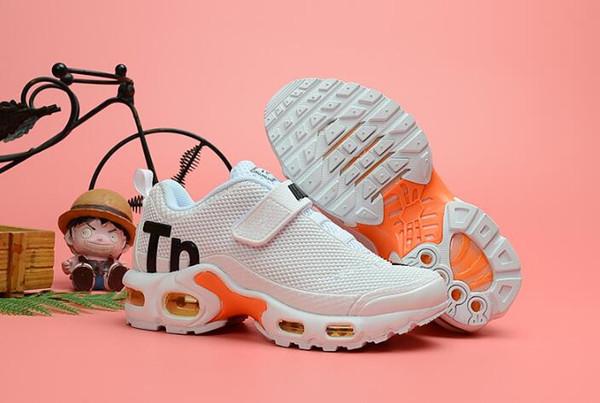 193c8ef470 Top Qualtiy Toddler Kids Mercurial TN Kpu Tn Plus Rainbow Running Sneakers  Tns Children Chaussures Pour