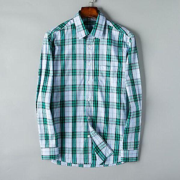 Newest Fashion Autumn Mens Shirt Candy Slim Fit Luxury Casual Stylish Dress Shirts Colours Plus Sizes M-3XL =128