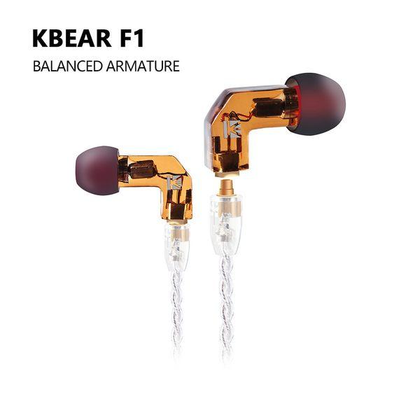 AK KB KULAK F1 Dengeli Armatür Kulak Kulaklık Bas DJ Koşu Spor Teknolojisi ile HIFI Kulaklık 3.5mm MMCX Kulaklık KEEAR Opal
