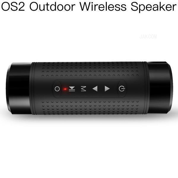 JAKCOM OS2 Haut-parleur extérieur sans fil Vente à chaud en haut-parleurs portable Sistemi éclairage annulaire selfie de vidéos phonographiques