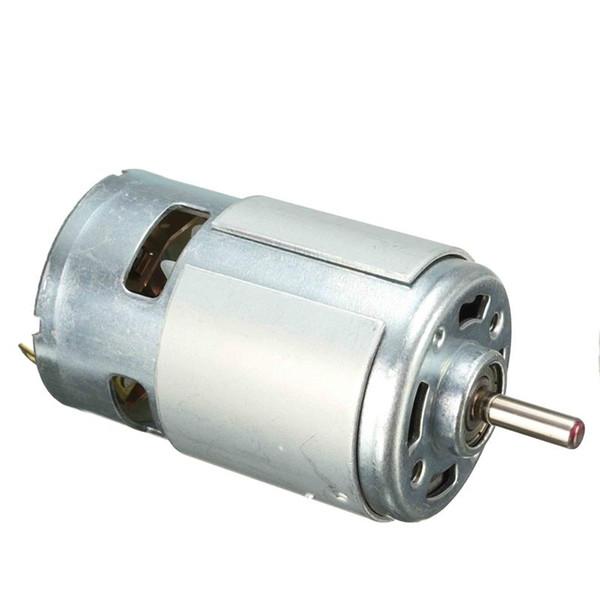 DC 12V 100W 1300015000rpm 775 motor Alta velocidad Par grande Motor DC Herramienta eléctrica Maquinaria eléctrica