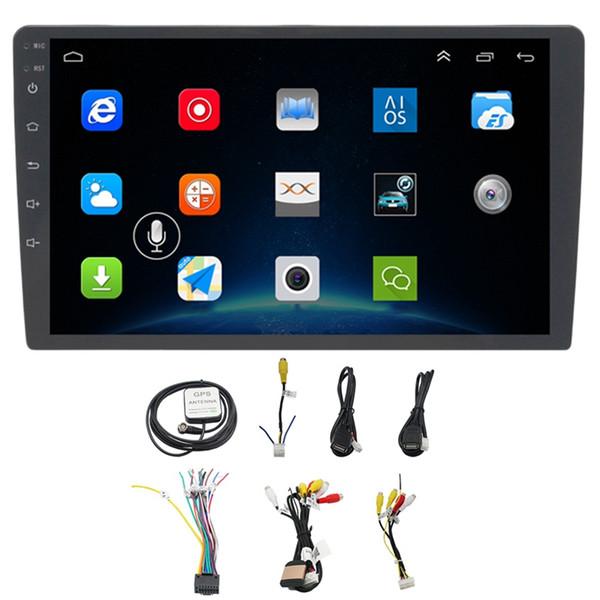 10,1-дюймовый Android 8.1 Автомобильный Bluetooth Wi-Fi Gps-навигация Четырехъядерный радиоприемник Видео Аудио Мультимедиа Mp5-плеер