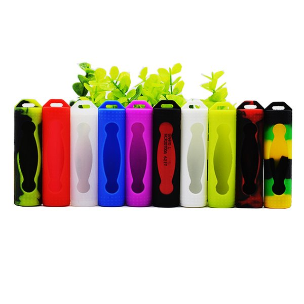 Silicone 20700 21700 Battery Protective Cover Rubber Sleeve Protection Case 22mm Skin Holder Pack Vape