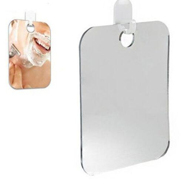 Acrylic Anti Fog Goggles Shower Mirror Bathroom Accessories Rectangle No Fog Man Shaving Mirror 17 x 13cm