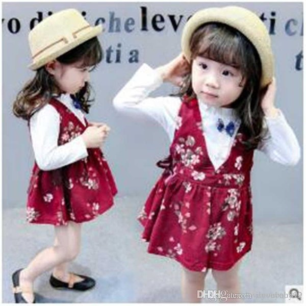 Children's Wear Wholesale Spring 2019 New Girl Baby Princess Dress Long Sleeve Underwear Dress Suit Girl Source