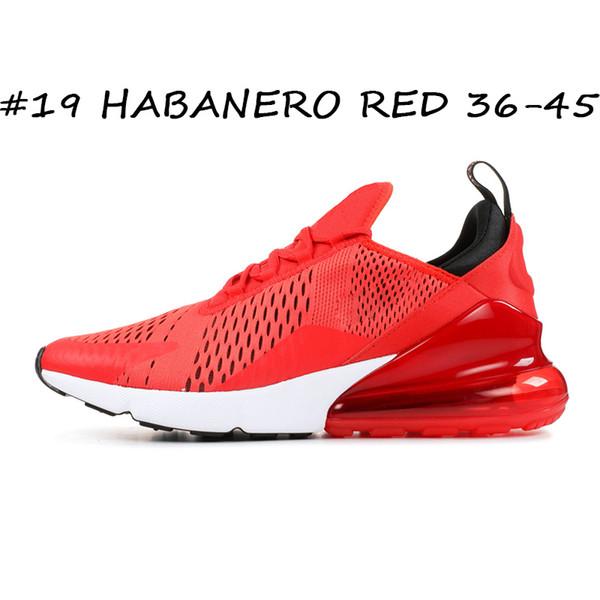 #19 HABANERO RED 36-45