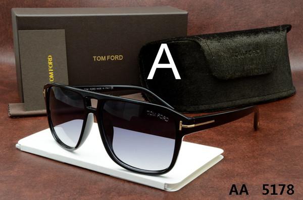 Luxe haut de gamme nouvelle mode 5178 Tom Lunettes de soleil pour homme femme Erika Ford Marque Designer 5178 5177 0394
