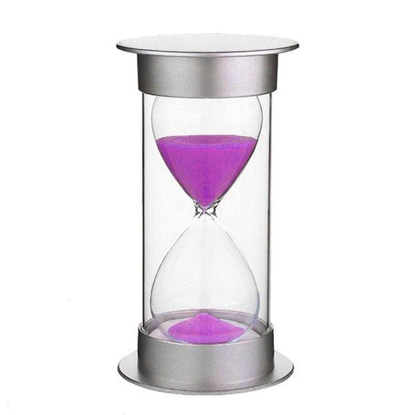 5 Minutes Sablier Pourpre Sable Horloge Horloge Creative Bureau Ornements Cuisine Décoration De La Maison Enfants Cadeau