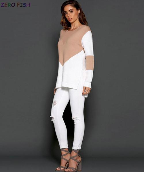 INS rosso netto amazzone maglietta femminile inverno inverno cuciture maglione donne maglione cross-country maglione femminile AW082