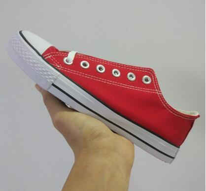 New Star Big Size 35-46 Freizeitschuhe Low Top Style Sportstars Chuck Classic Canvas Schuh Sneakers Herren / Damen Canvas Schuhe 11